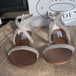 Steve madden zsaza embellished sandals
